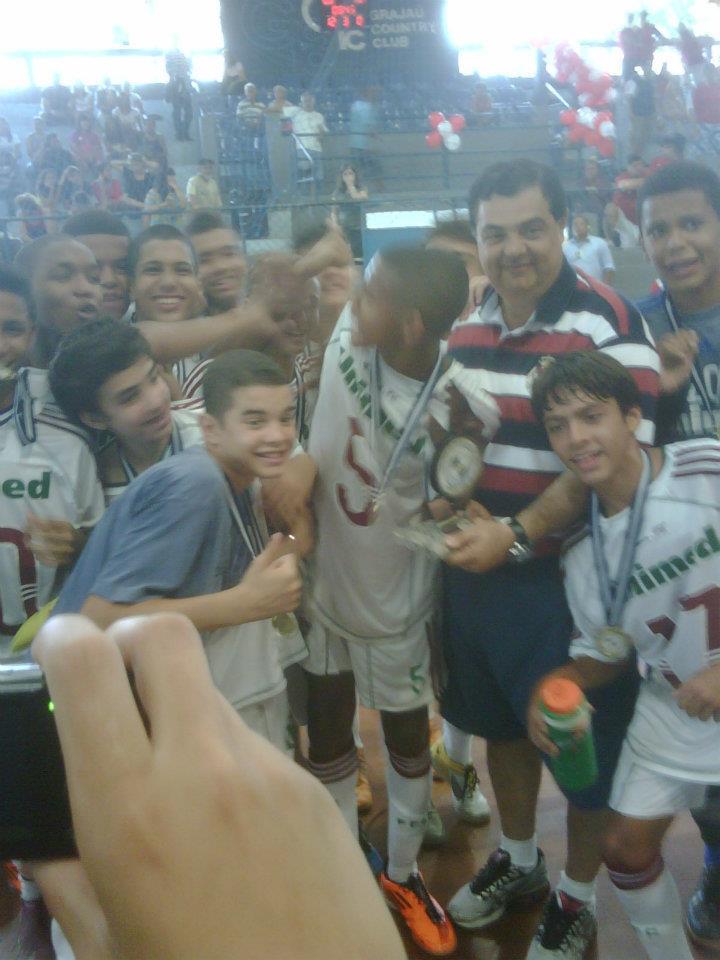 a4f777ce98 O Futsal do Fluminense foi à quadra neste fim de semana (16 a 18 12) para  definir os títulos dos campeonatos de 1º ano realizados pela Federação de  Futebol ...