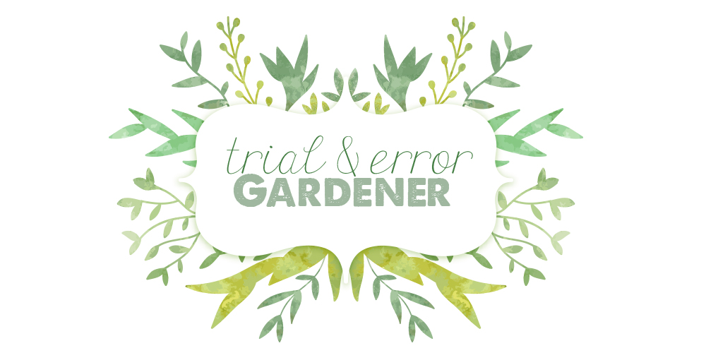 Trial and Error Gardener