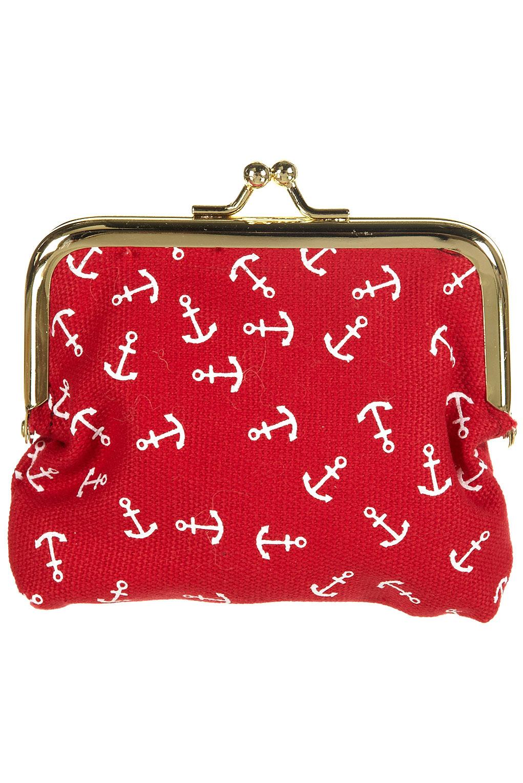 Red Purse Clip Art Achors on this coin purse!