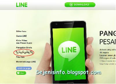 install line di pc windows 8