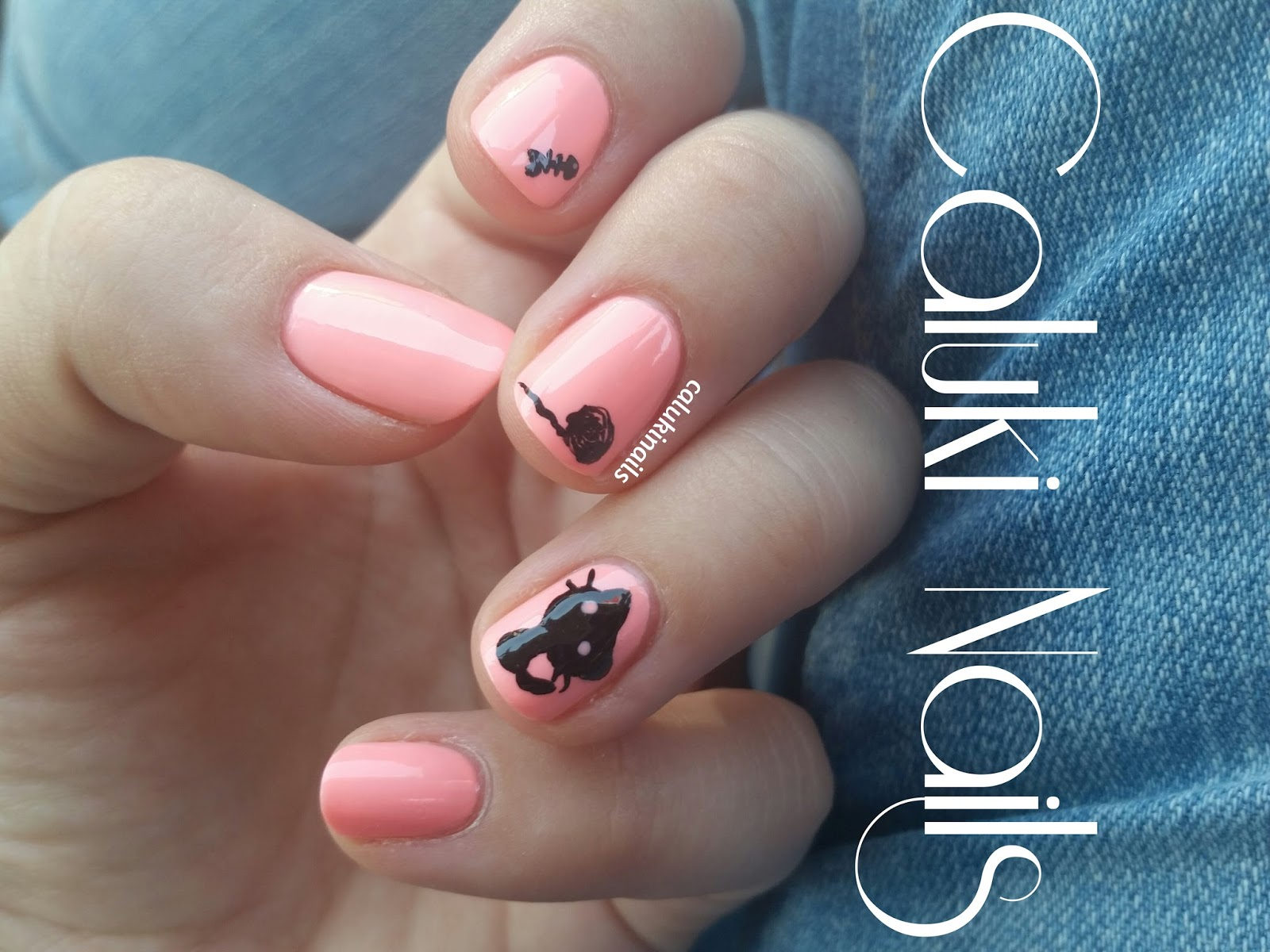 Caluki Nails : Nail art Gato | Amable de Masglo