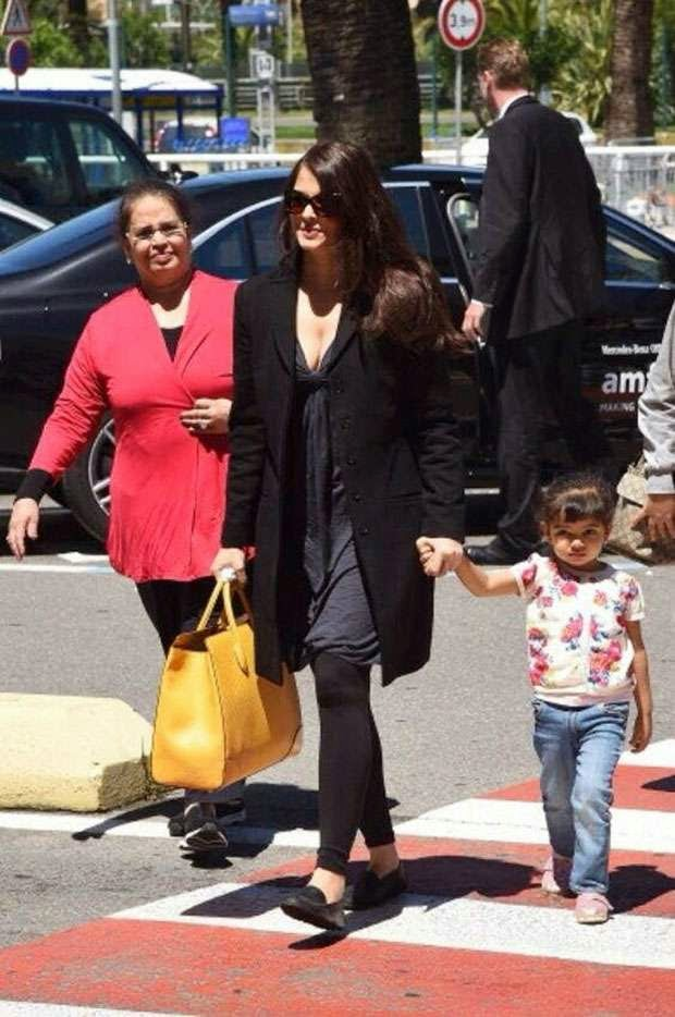aishwarya rai daughter aaradhya bachchan latest pictures