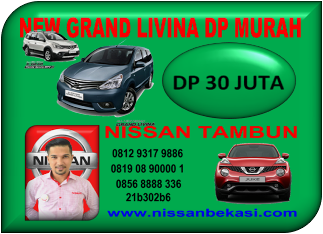 NISSAN NEW GRAND LIVINA DP MURAH