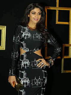Deepika Padukone's Black & Gold Party Event Photos