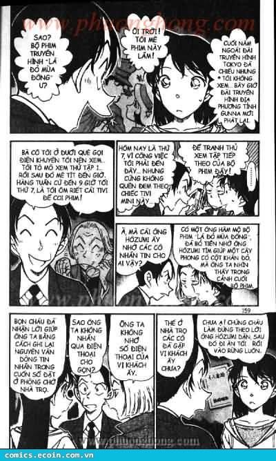 Detective Conan - Thám Tử Lừng Danh Conan chap 542 page 5 - IZTruyenTranh.com