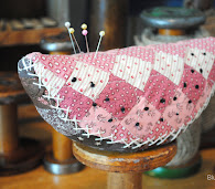 Quilted Watermelon Pincushion