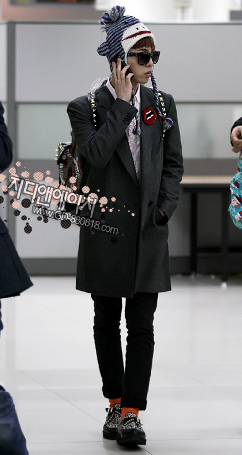 g-dragon airport style 2010