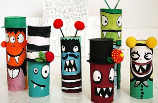 Ideas para Reciclar Tubos de Cartón, Juguetes y Decoración Infantil