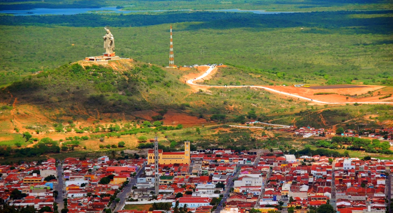 Resultado de imagem para fotos da cidade de santa cruz rn