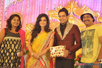 Celebraties at Actor Bharat n Jessy Wedding Reception Photos+%252848%2529 Actor Bharath n Jessy Wedding Photos