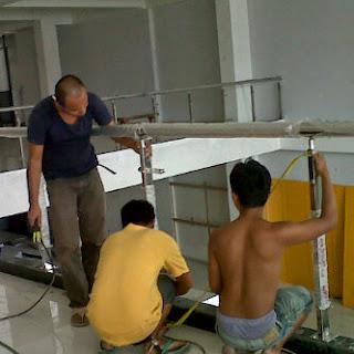 Jasa railling tangga murah minimalis malang