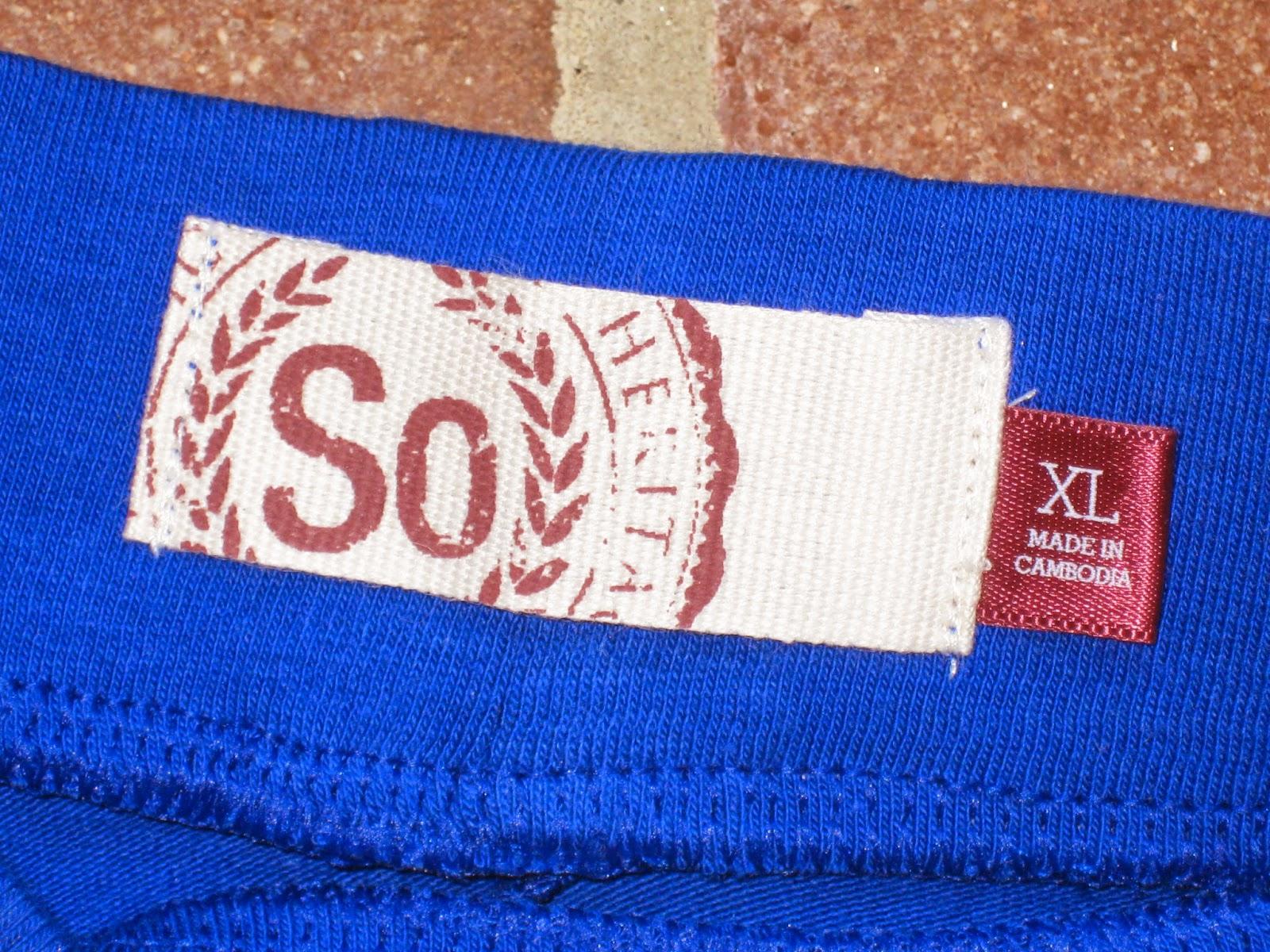 SO Brand Cobalt Blue Skater Skirt in Size X-Large