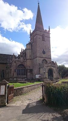 The church, Lacock Village © Regencyhistory.net