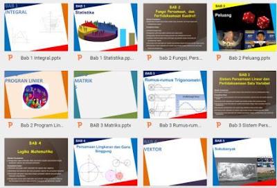 gambar media pembelajaran Matematika Untuk SD, SMP dan SMA