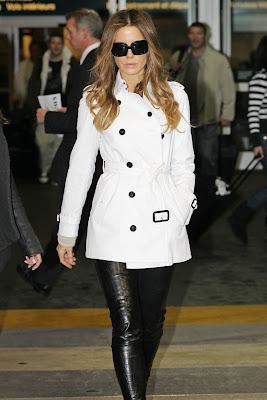 Kate Beckinsale Airport Candids