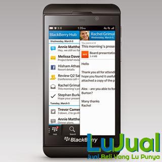 Tampilan BBM6 - Blackberry Z10   LuJual