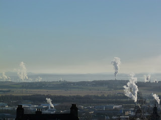 Towards Grangemouth from Stirling