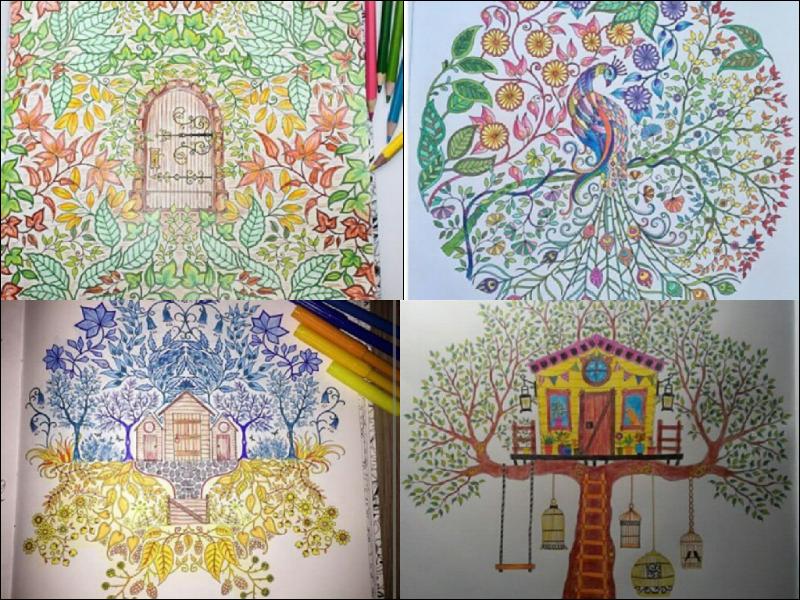 fotos jardim secreto:Fiquei encantanda com tantas pinturas incríveis que encontrei ao
