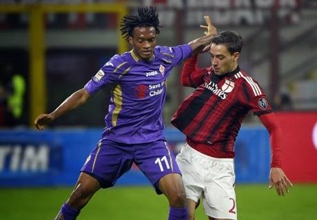 Liga Italia : AC Milan 1-1 Fiorentina