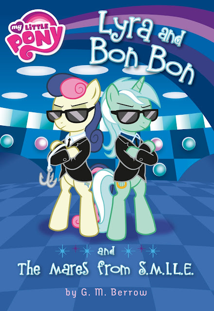 Lyra and Bonbon and the Mares From S.M.I.L.E Book Cover