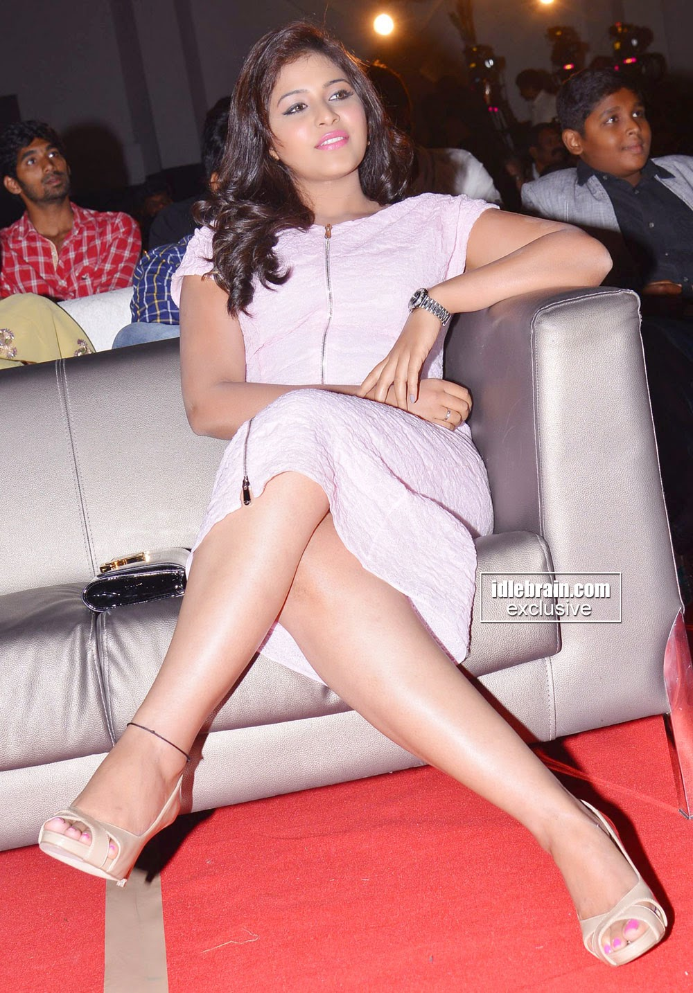 indian actress crossed legs