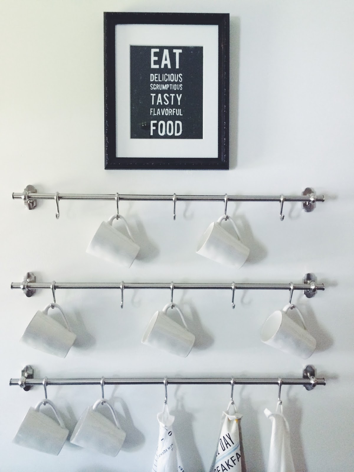 Empty Kitchen Wall A Blessed Nest The Fintorp Simple Inexpensive Way To