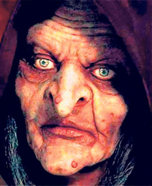 Face of Nenek Kebayan