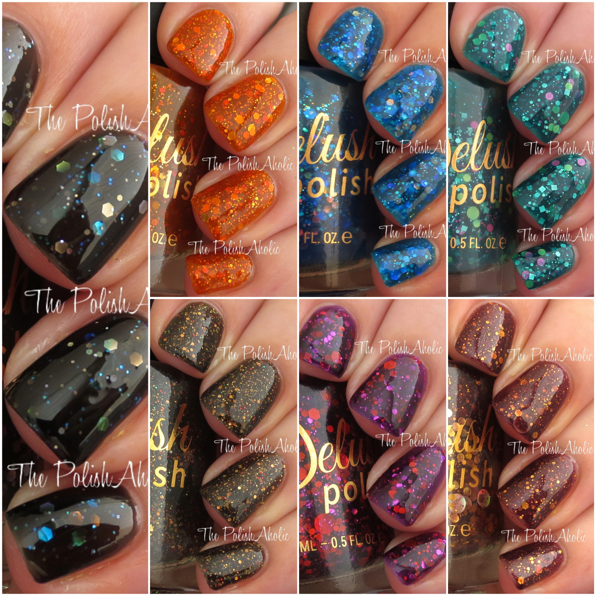 The PolishAholic: Delush Polish Dames of Thrones Collection Swatches ...