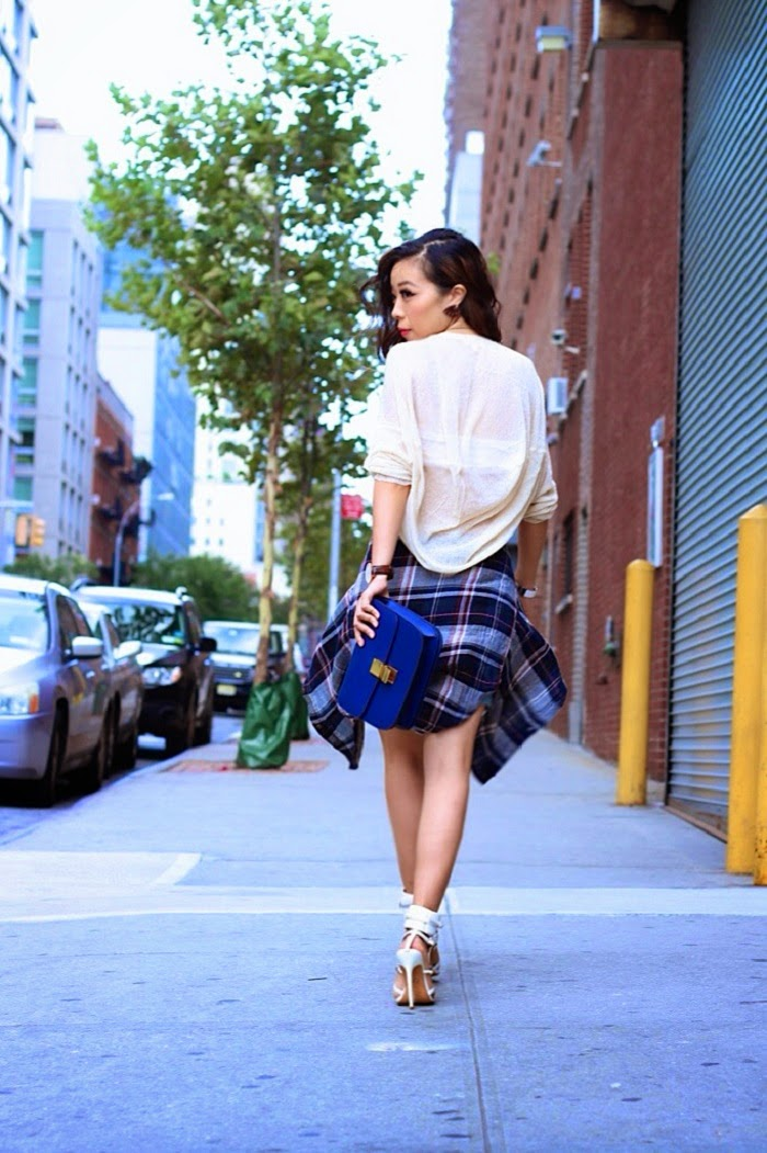 dailylook,fallintome,highlowsweater,ripped,distressed,shorts,asos,paige,hermes,danielwellington,monikachiang,streetstyle,summer,denim,shallwesasa,nyc