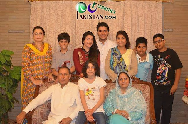 Ayeza Khan With Family Photoshoot
