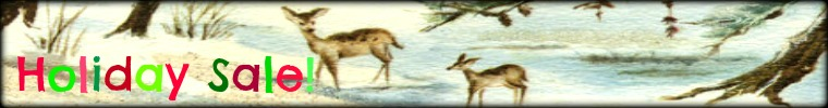Free Holiday Website Banner Baby Deer