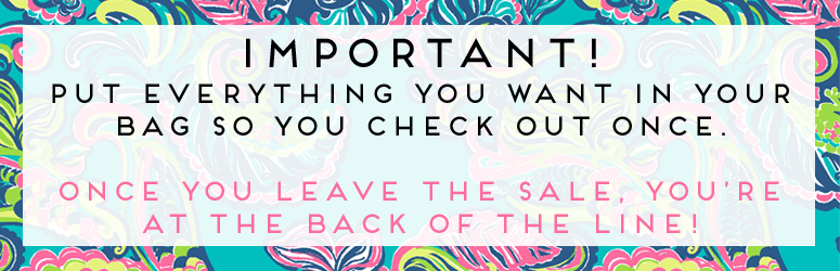 2016 Lilly Pulitzer After Party Sale