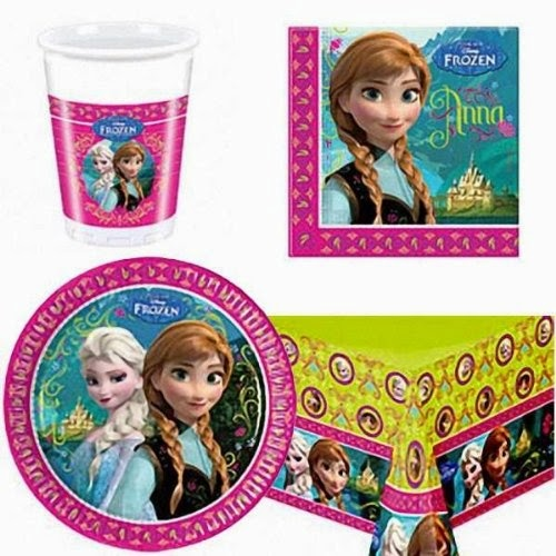Frozen Tableware Pack for 8 Children