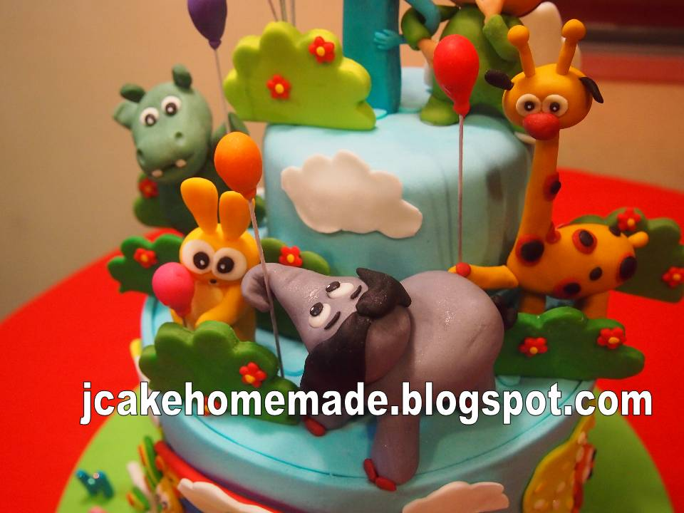 Birthday theme baby tv image inspiration of cake and for Baby tv birthday decoration
