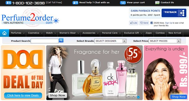 Buy Original Fragrance at Perfume2order.com