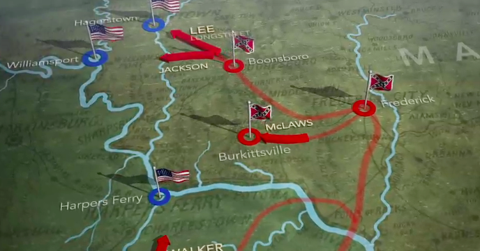 Map of the Week: Antietam Animated Map and Video