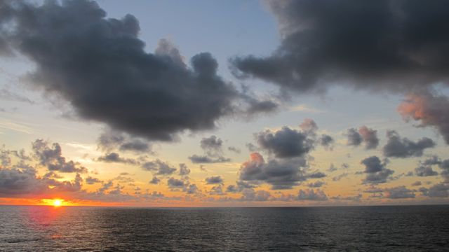 Sundown on Semester at Sea