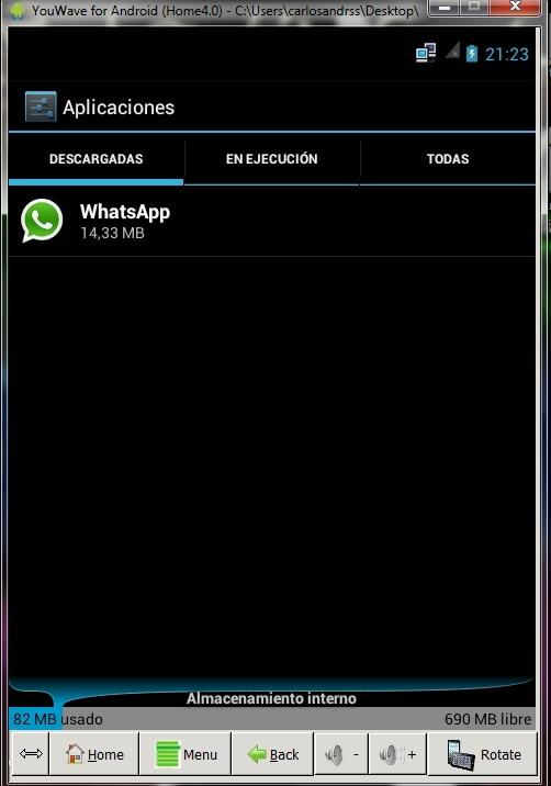 YouWave 4.0.1 Emulador de Android para Windows Español