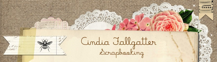 Cindia Fallgatter Scrapbooking