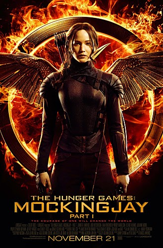 the hunger games: mockingjay part one - fire burns brighter in the darkness