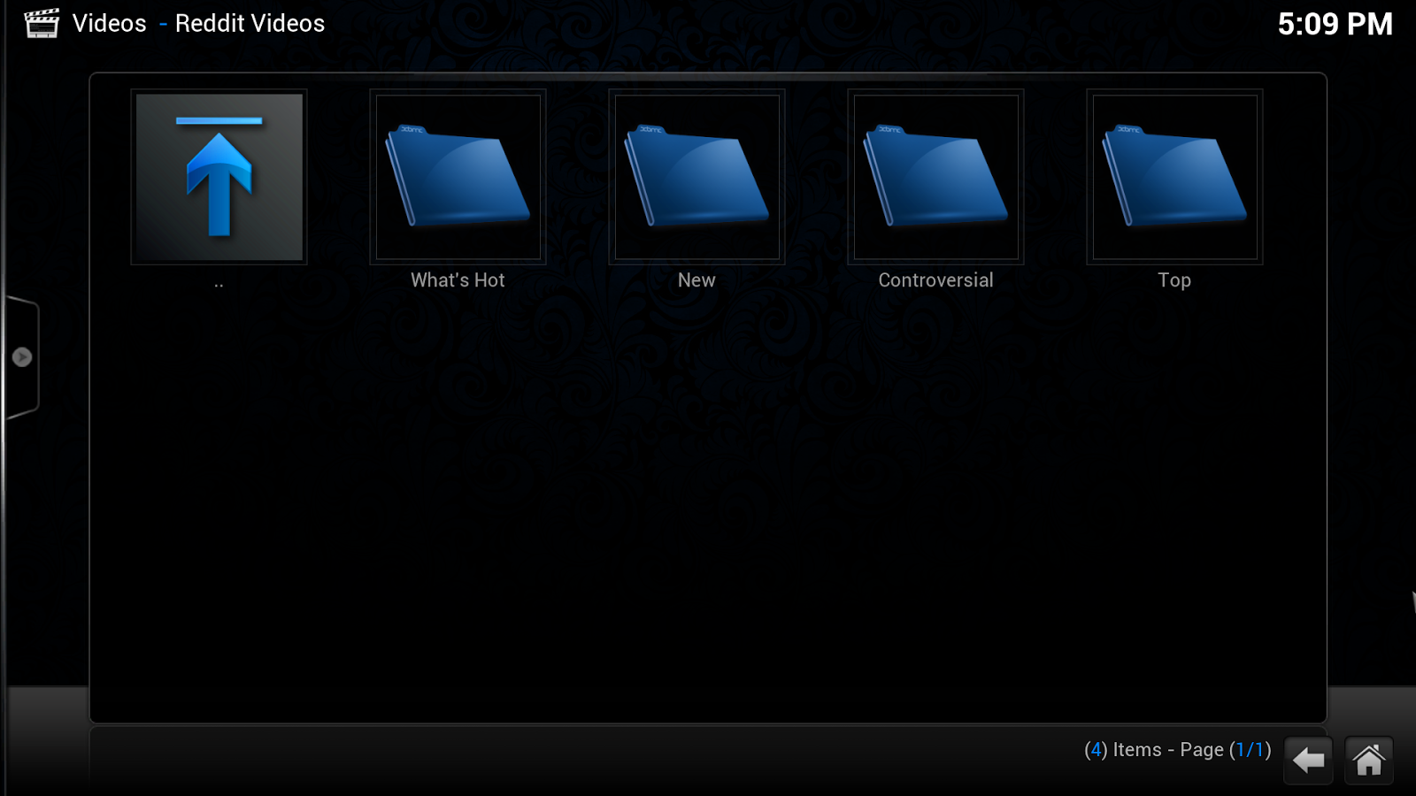 Reddit Videos Category Xbmc