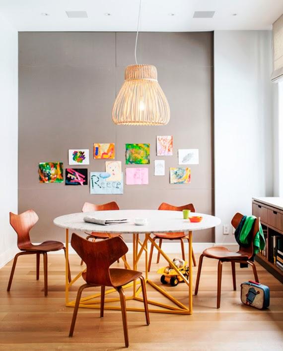 medidas para sala de jantar - sala de jantar - medidas para mesa - espaço para mesa - mesa redonda - espaço confortável