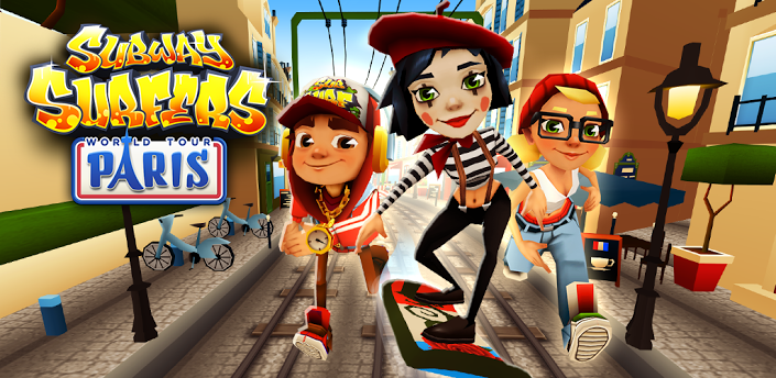 Subway Surfers World Tour Paris Hack dinheiro unlimited coins