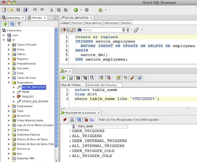 """Si utilizas SQL Developer simplemente puedes ir a la pestaña """"Código"""""""
