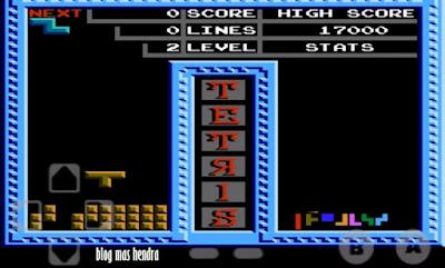 Tampilan Game Tetris - Blog Mas Hendra