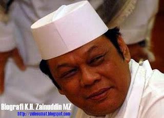 Biografi K.H. Zainuddin MZ