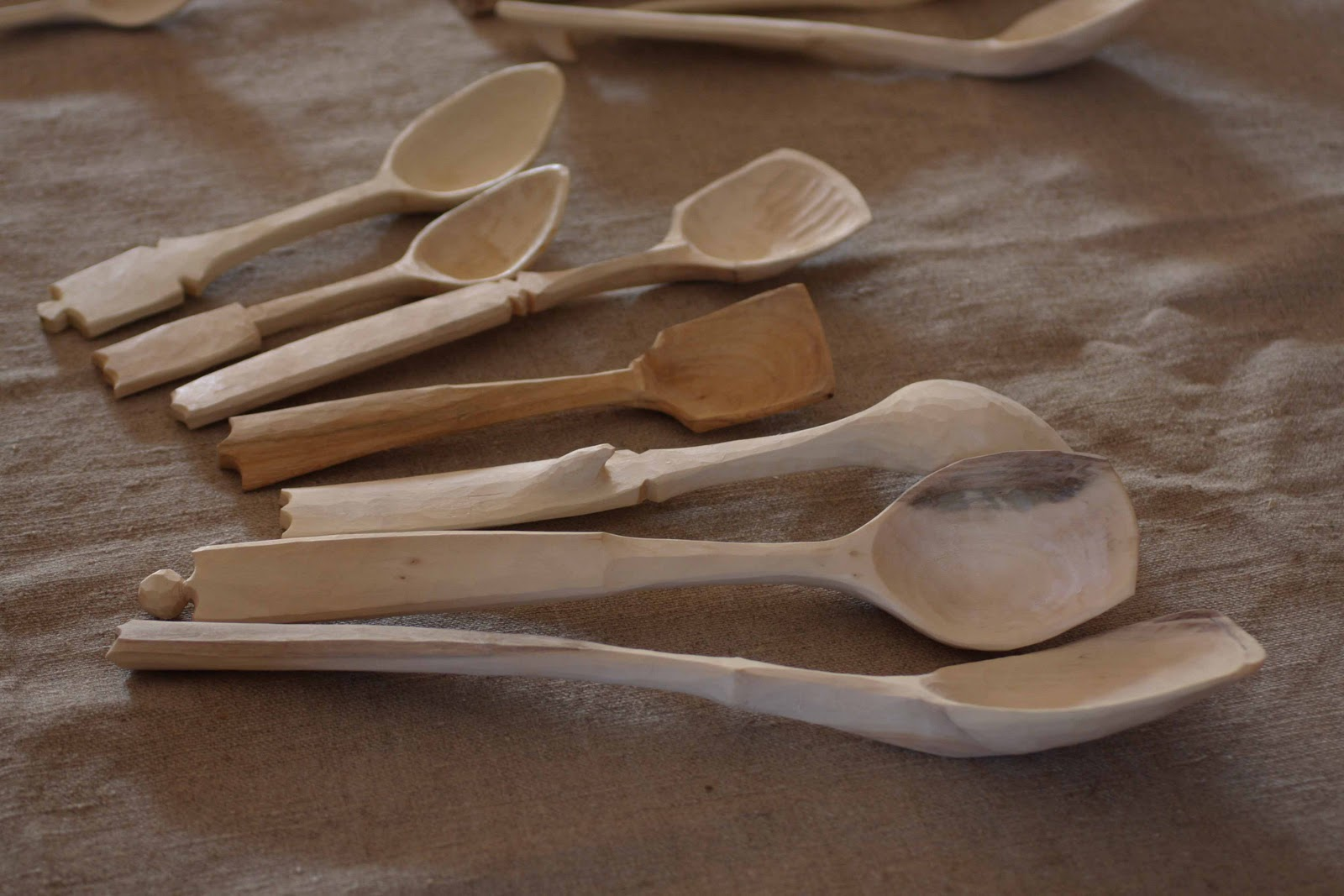 Spooncarving course with fritiof runhall
