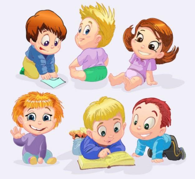 Niños en preescolar animados imagui
