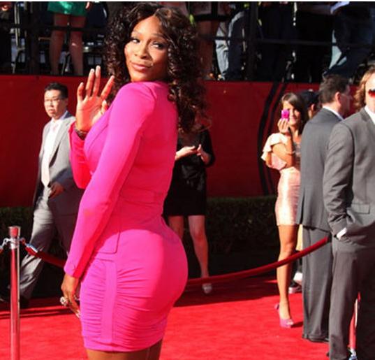 Ass-Champ Serena says ''Butt Too Big''