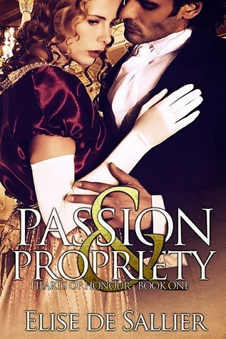 Book cover: Passion & Propriety by Elise de Sallier